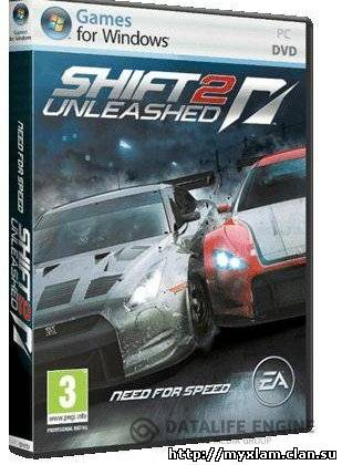 Shift 2 Unleashed + DLC Legend & Speedhunters (2011/RUS/ENG/Repack)