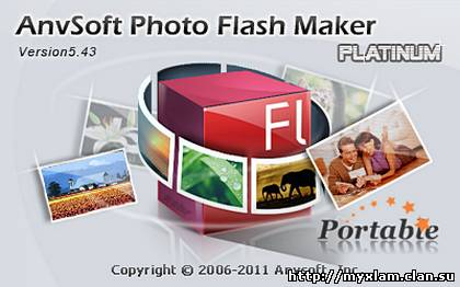 AnvSoft Photo Flash Maker Platinum 5.43 Portable [2012, ENG, RUS]